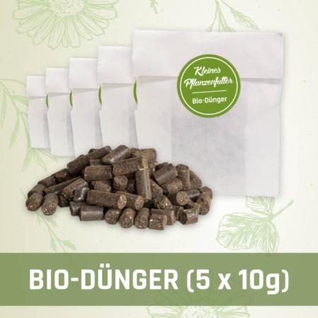 Produktfoto Bio-Dünger mit 5 Tüten zu je 10 Gramm